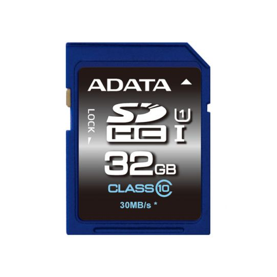 32GB SDHC ADATA UHS-I CL10