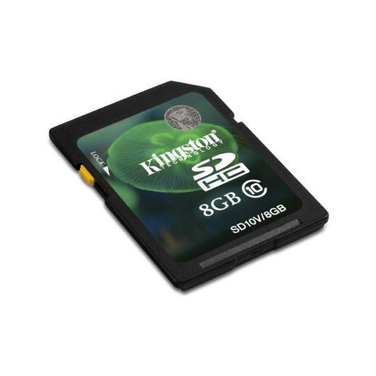 8GB SDHC KINGSTON CL10