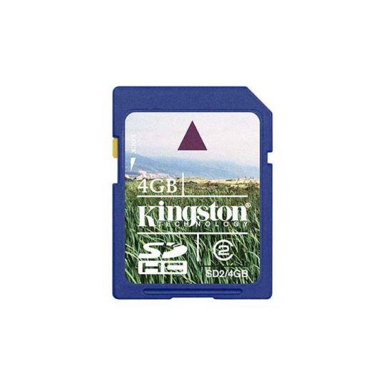 4GB SDHC KINGSTON CL4