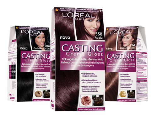 Loreal CASTNG CREME GLOSS боя за коса