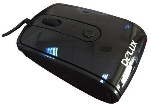 Мишка Delux DLM-488BU USB