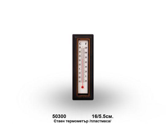 Стенен термометър PVC ,16/5,5см