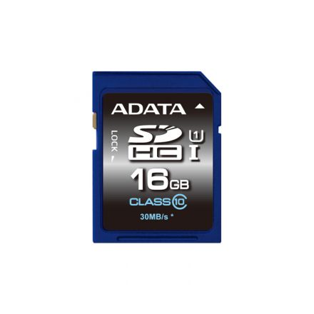 16GB SDHC ADATA UHS-I CL10