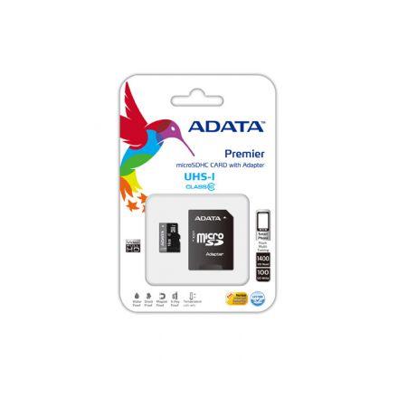 8G SDMIC+ADAP UHS-I CL10 ADATA