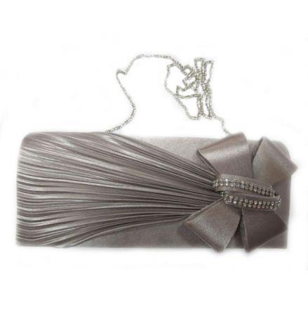 "Дамска чанта ""Мегияс"" 16502 сива"