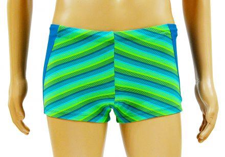 РОС-МЕН Мъжки бански синьо/зелено N612