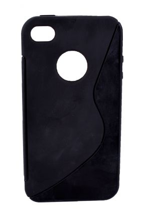 Калъф S-case iPhone 4 черен