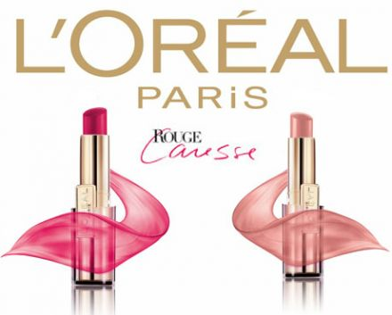 Loreal ROUGE CARESSE червило