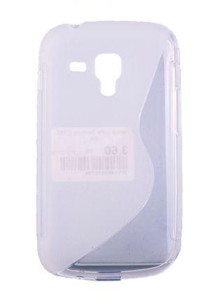Калъф S-line Samsung s7580 бял