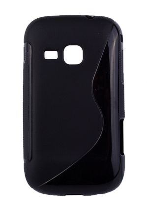Калъф S-case Samsung S6500 Galaxy Mini 2 черен