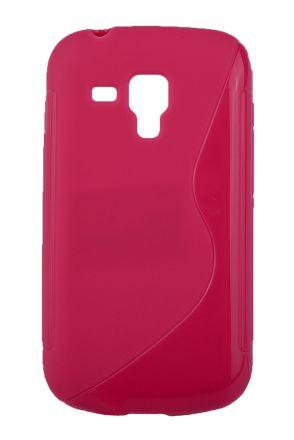 Калъф S-line Samsung s7580 розов