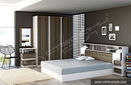 Спален комплект Космополитан 16