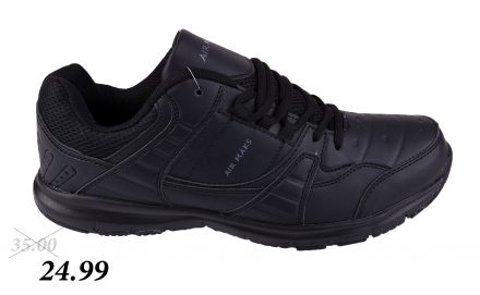 МАТ СТАР AIR SPORT 13-9140 Black/L. grey 36/40