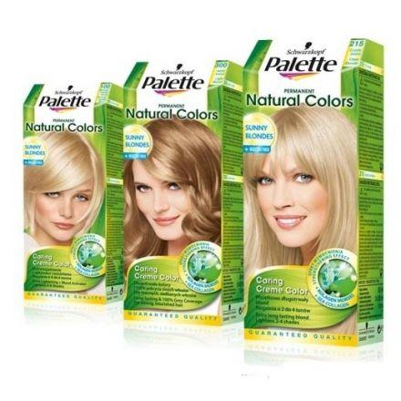 Palette NATURAL COLORS боя за коса