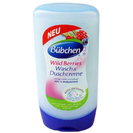Bubchen Wild Berries-Измиващ душ крем-300ml