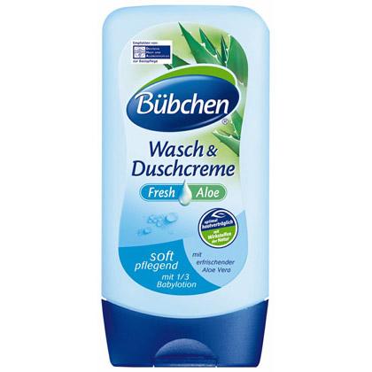 Bubchen Fresh Aloe-Измиващ душ крем-300ml