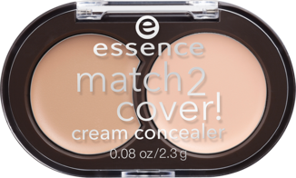 Essence match 2 cover крем коректор