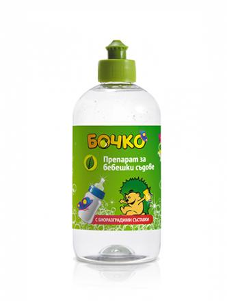 Бочко-Препарат за бебешки съдове-0,500ml
