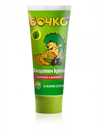 Бочко-Защитен крем за всички сезони с пантенол и витаминЕ-0,75ml