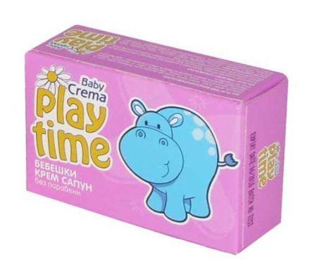 Play Time-Бебешки крем-сапун 75g