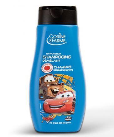 Cornie Cars-Нежен шампоан с аромат на праскова и кайсия-250ml