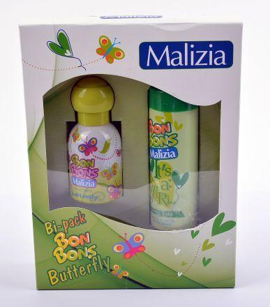 Malizia Bon Bons Buterfly-Комплект тоалетна вода и дезодорант.