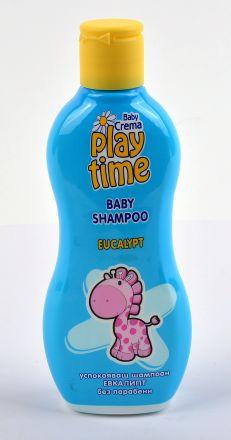 Play Time-Бебешки шампоан Евкалипт-200ml