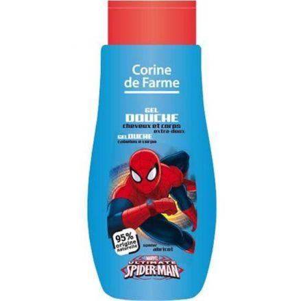 CORINE SPIDERMAN-Нежен измиващ гел за коса и тяло с аромат на кайсия-250ml