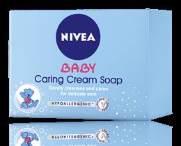NIVEA Baby Нежен подхранващ крем-сапун-100g