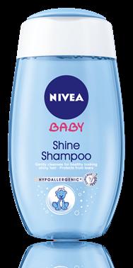 NIVEA Baby Шампоан за копринен блясък-200ml