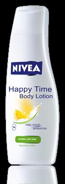Nivea Happy Time подхранващ лосион за тяло 250ml