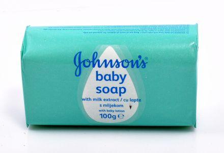 Johnson's baby-Бебешки сапун с мляко-100g