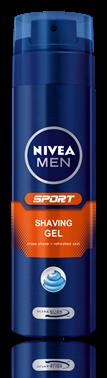Nivea for Men Sport гел за бръснене 200ml