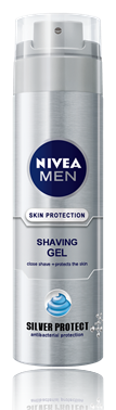 Nivea for Men Silver Protect гел за бръснене 200ml