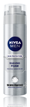 Nivea for Men Silver Protect пяна  за бръснене 200ml