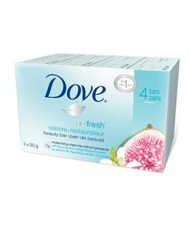 Dove Go Fresh Restore крем-сапун 100gr