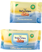 Event Baby-Влажни кърпи с невен-30бр,