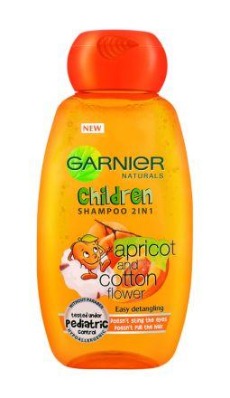 Garnier Children-Шампоан 2 в 1 за лесно разресване с екстракт от кайсия-250ml
