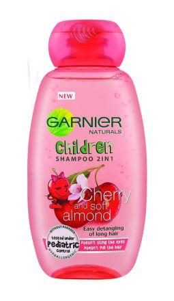 Garnier Children-Шампоан 2 в 1 за лесно разресване с екстракт от череша-250ml