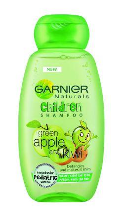 Garnier Children-Шампоан 2 в 1 за лесно разресване с екстракт от зелена ябълка и киви-250ml
