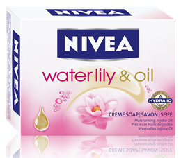 Nivea Waterlily&Oil сапун 100gr