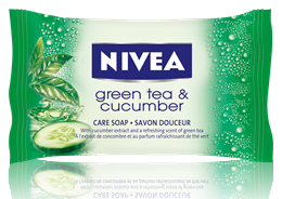 Nivea Green tea&Cucumber сапун 90gr