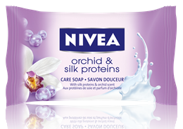Nivea Orchid&Silk Proteins сапун 90gr