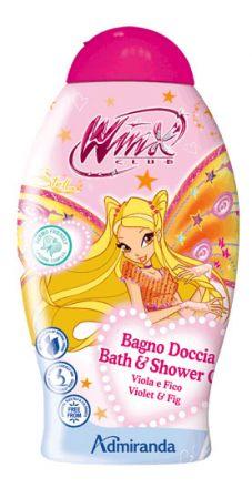 Admiranda Winx-Кремообразен душ-гел с аромат на Теменужки и Смокиня-250ml