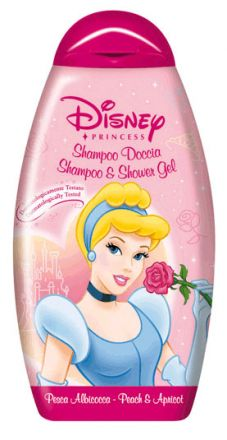Admiranda Disney Принцеса-Нежен шампоан за коса и тяло Пепеляшка-250ml
