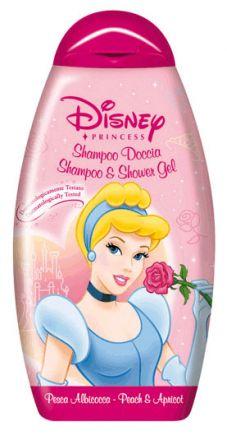 Admiranda Disney Принцеса-Нежен шампоан за коса и тяло Пепеляшка-300ml