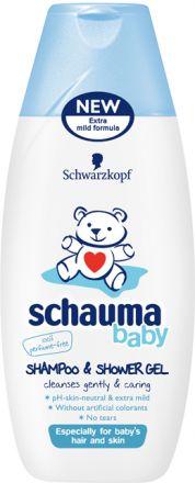 Schauma Baby-Шампоан и ду-гел-250ml