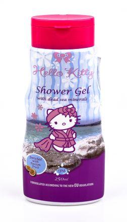 Hello Kitty-Детски ароматен душ-гел за тяло с Мляко и Мед-250ml