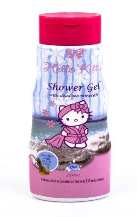 Hello Kitty-Детски ароматен душ-гел за тяло с Екзотични плодове-250ml