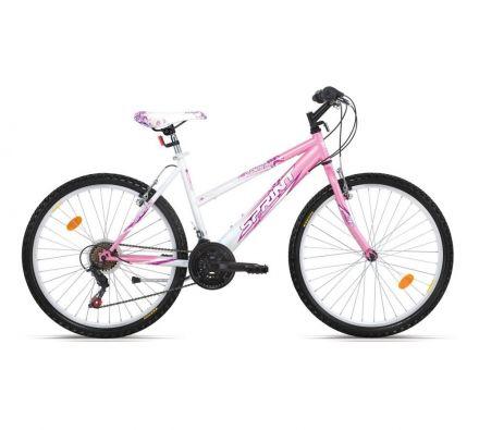 """Велосипед 26"""" x18"""" Sprint Vanessa Eco Wht/Pink"""